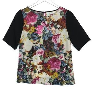 Urban Outfitters Kimchi Blue Floral Blouse Top S